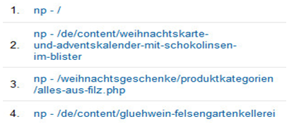 not provided Keywords in Google Analytics etwas besser verstehen