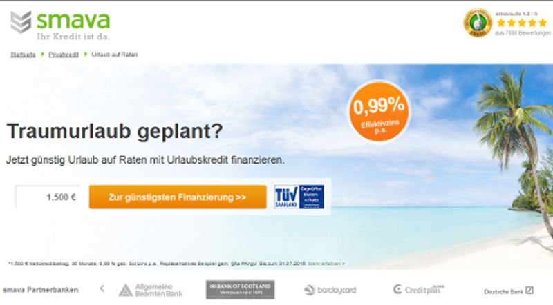 Call-To-Action auf einer Landingpages