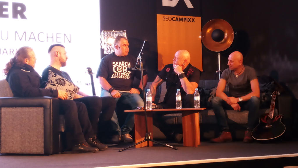 Marco Janck im Interview mit der Band United Four zum Start der SEO Campixx 2019