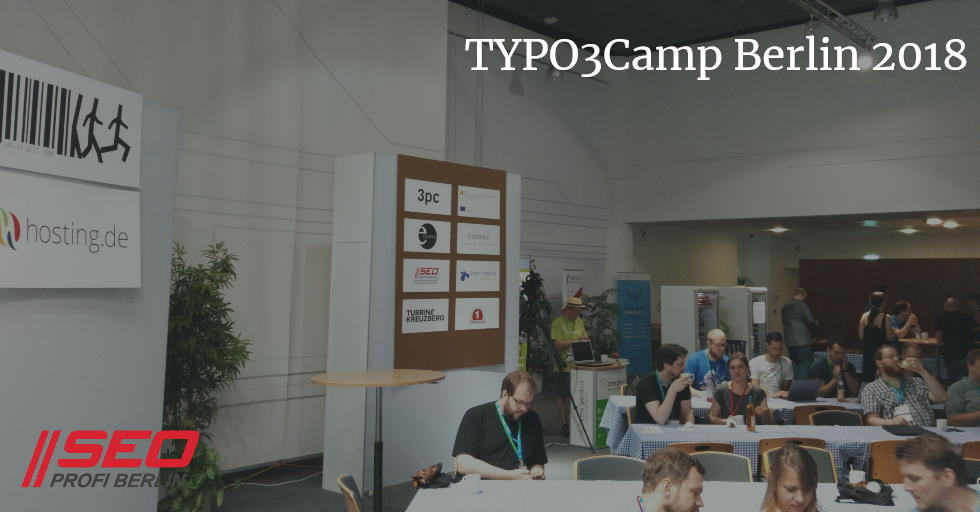 TYPO3Camp Berlin 2018 - sponsored by SEO Profi Berlin