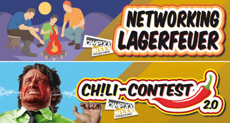 CAMPIXX 2015 - Lagerfeuer & Chili-Contest