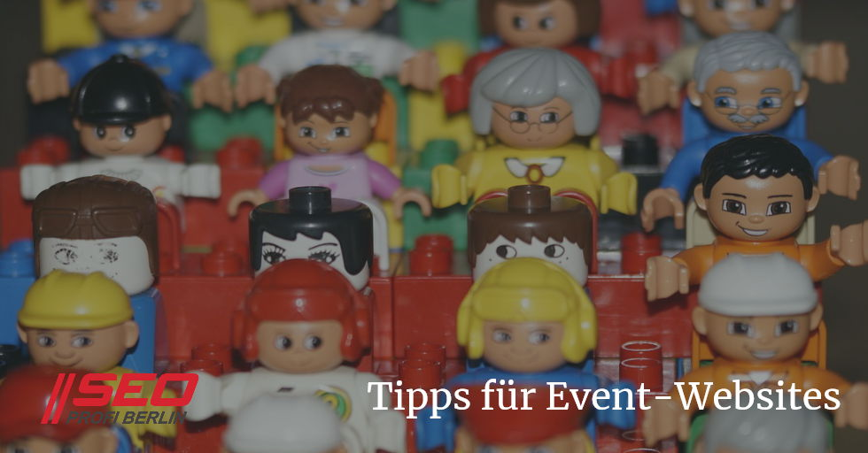 Online-Marketing-Tipps für Event-Websites