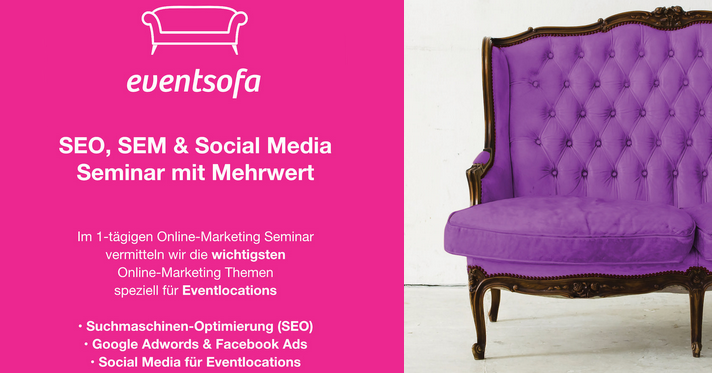 eventsofa SEO- & SEA-Day 2016 in Berlin