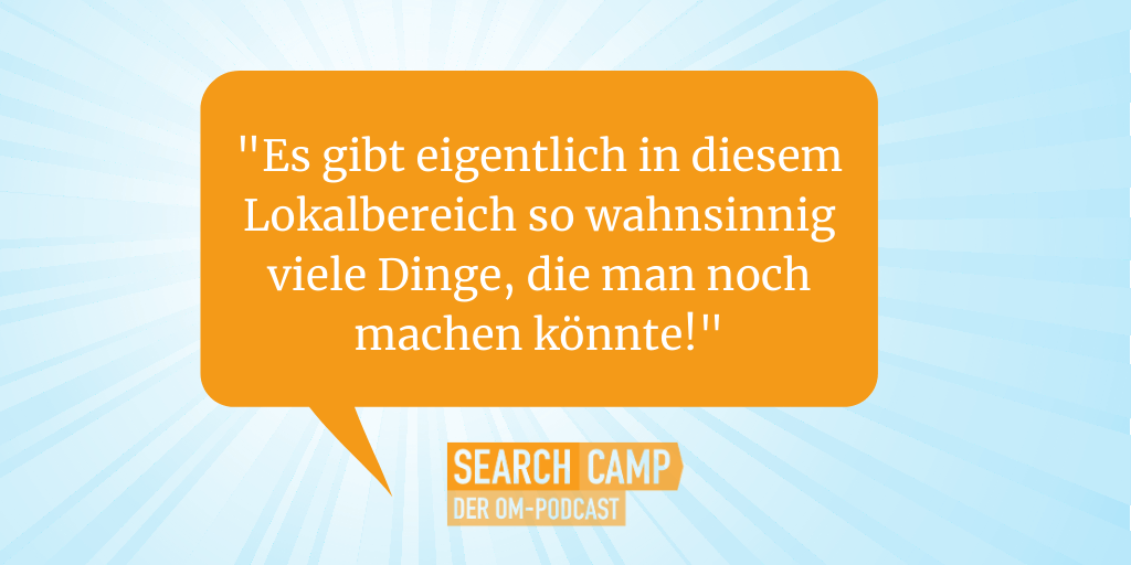 Search Camp Podcast-Interview zu Google My Business