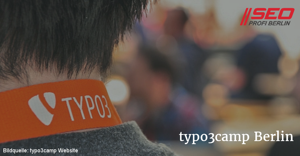 typo3camp Berlin - sponsored by SEO Profi Berlin
