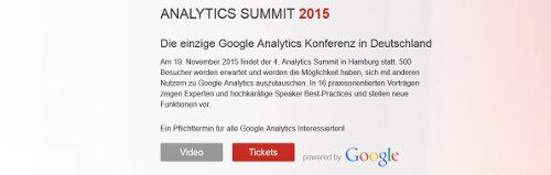 Analytics Summit 2015 in Hamburg
