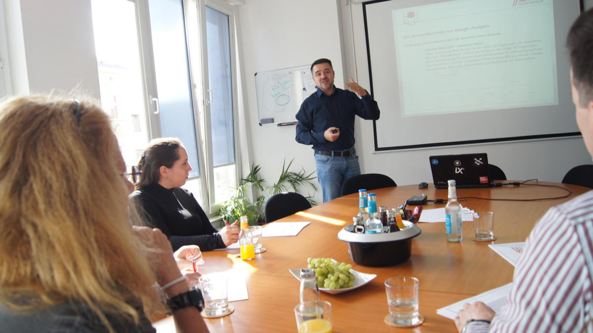 Facebook Marketing Seminar in Berlin und bundesweit inhouse